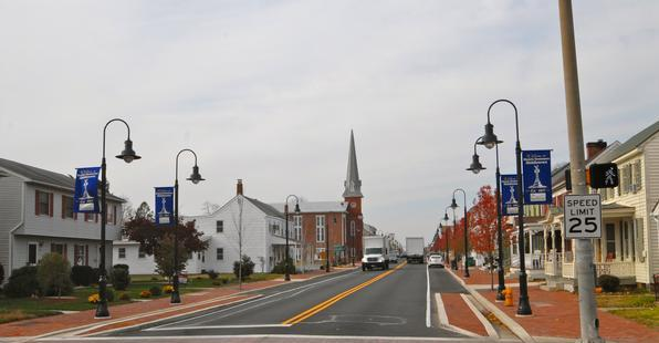 Main Street in Middletown, DE